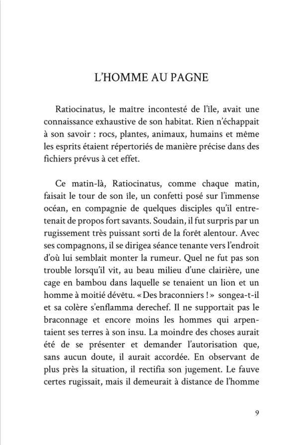 Voyage d'un Saumon Noir page 9