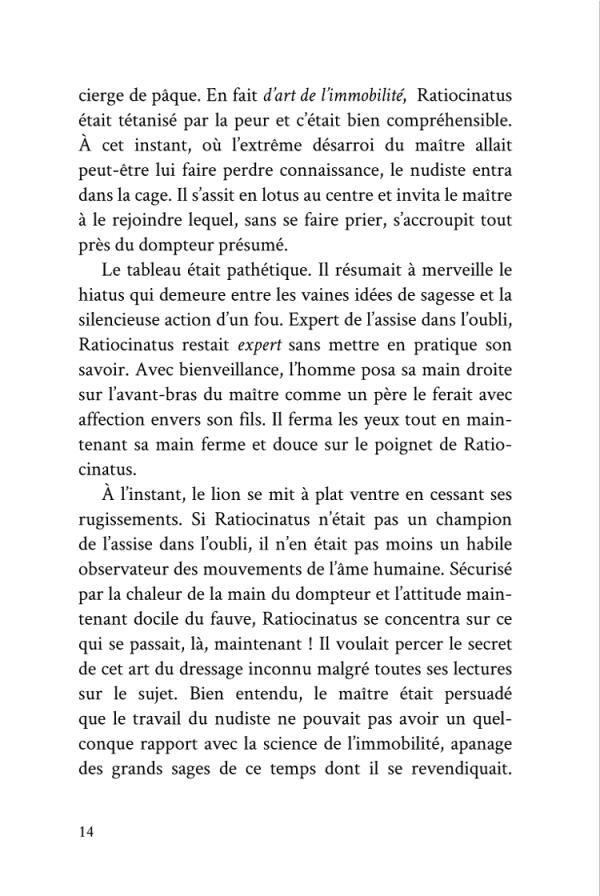 Voyage d'un Saumon Noir page 14